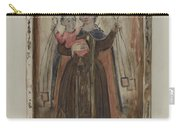 Retablo (our Lady Of Carmel) Carry-all Pouch
