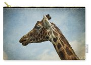 Reticulated Giraffe Head Carry-all Pouch