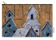 Retired Bird Houses By Prankearts Fine Arts Carry-all Pouch