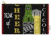Retro Beer Sign-jp2915 Carry-all Pouch