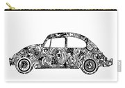 Retro Beetle Car 2 Carry-all Pouch