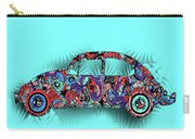 Retro Beetle Car 5 Carry-all Pouch