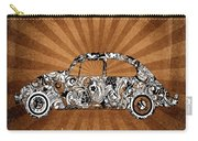 Retro Beetle Car Carry-all Pouch