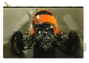 Retro Car In Orange Carry-all Pouch