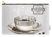 Retro Coffee Shop 1 Carry-all Pouch