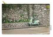 Retro Italian Scooter Carry-all Pouch