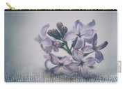 Retro Lilac Flower Carry-all Pouch
