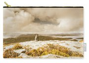 Retro Mountaintop Views Carry-all Pouch