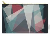 Retro Polygon Pattern Carry-all Pouch