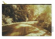 Retro Rainforest Road Carry-all Pouch