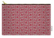 Retro Red Pattern Carry-all Pouch
