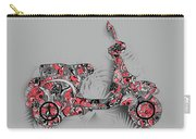 Retro Scooter 4 Carry-all Pouch