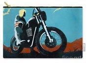 Retro Scrambler Motorbike Carry-all Pouch