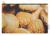 Retro Shortbread Biscuits In Old Kitchen Carry-all Pouch