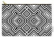Retro Square Background Carry-all Pouch