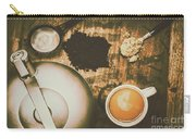 Retro Tea Background Carry-all Pouch