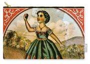 Retro Tobacco Label 1868 C Carry-all Pouch