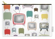 Retro T.v. Carry-all Pouch