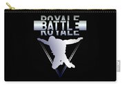 Retro Vintage 90s Chrome Skydiver Battle Royale Gamer T Shirt Carry-all Pouch