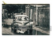 Retromobile. Morris Minor. Vintage Monochrome Carry-all Pouch