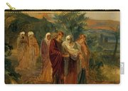 Returning From The Burial Of Christ Carry-all Pouch