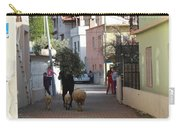 Returning Home With Sheep And Lambs In Bozburun Carry-all Pouch