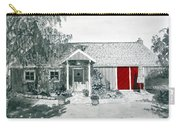 Retzlaff Winery With Red Door No. 2 Carry-all Pouch