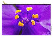 Revenge Of The Spiderwort Carry-all Pouch