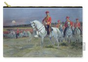 Reviewing The Troops Carry-all Pouch by Jean Baptiste Edouard Detaille