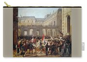 Revolution Of 1830 Departure Of King Louis-philippe For The Paris Townhall Horace Vernet Carry-all Pouch