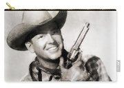 Rex Allen, Vintage Actor Carry-all Pouch