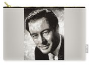 Rex Harrison, Vintage Hollywood Legend Carry-all Pouch