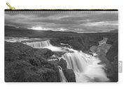 Reykjafoss Waterfall Iceland 3996 Carry-all Pouch