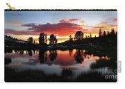 Reymann Lake Sunset - Yosemite Carry-all Pouch