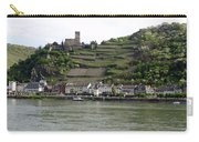 Rhine Castle And Terraced Vineyards Carry-all Pouch