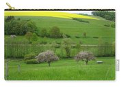 Rhineland-palatinate Summer Meadow With Cherry Trees Carry-all Pouch