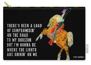 Rhinestone Cowboy Quote Carry-all Pouch