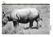 Rhino In The Grasses Carry-all Pouch