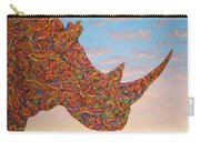 Rhino-shape Carry-all Pouch by James W Johnson