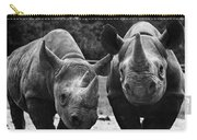 Rhinoceroses Carry-all Pouch