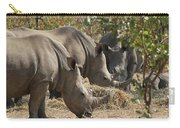Rhinos,  Zambia Carry-all Pouch