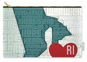 Rhode Island Cities Carry-all Pouch