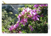 Rhodes Greece Flowers Carry-all Pouch