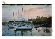 Rhodes Mandraki Harbour Carry-all Pouch by Ylli Haruni