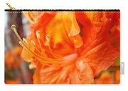 Rhodies Art Prints Orange Rhododendron Flowers Baslee Troutman Carry-all Pouch