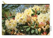 Rhodies Flowers Art Yellow Orange Rhododendrons Garden Carry-all Pouch