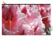 Rhodies Pink Fine Art Photography Rhododendrons Baslee Troutman Carry-all Pouch