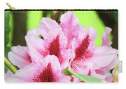 Rhododendron Floral Art Prints Rhodies Flowers Canvas Baslee Troutman Carry-all Pouch