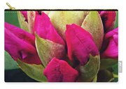 Rhododendron Velvet    Carry-all Pouch