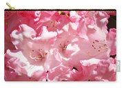 Rhododendrons Flowers Art Print Pink Rhodies Baslee Troutman Carry-all Pouch